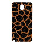SKIN1 BLACK MARBLE & RUSTED METAL Samsung Galaxy Note 3 N9005 Hardshell Back Case Front