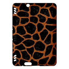 Skin1 Black Marble & Rusted Metal Kindle Fire Hdx Hardshell Case