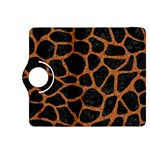 SKIN1 BLACK MARBLE & RUSTED METAL Kindle Fire HDX 8.9  Flip 360 Case Front