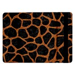 SKIN1 BLACK MARBLE & RUSTED METAL Samsung Galaxy Tab Pro 12.2  Flip Case Front
