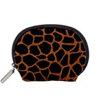 SKIN1 BLACK MARBLE & RUSTED METAL Accessory Pouches (Small)  Front