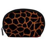 SKIN1 BLACK MARBLE & RUSTED METAL Accessory Pouches (Large)  Front
