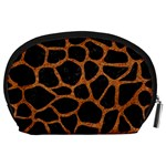 SKIN1 BLACK MARBLE & RUSTED METAL Accessory Pouches (Large)  Back