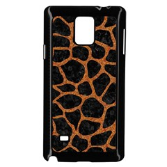 Skin1 Black Marble & Rusted Metal Samsung Galaxy Note 4 Case (black)