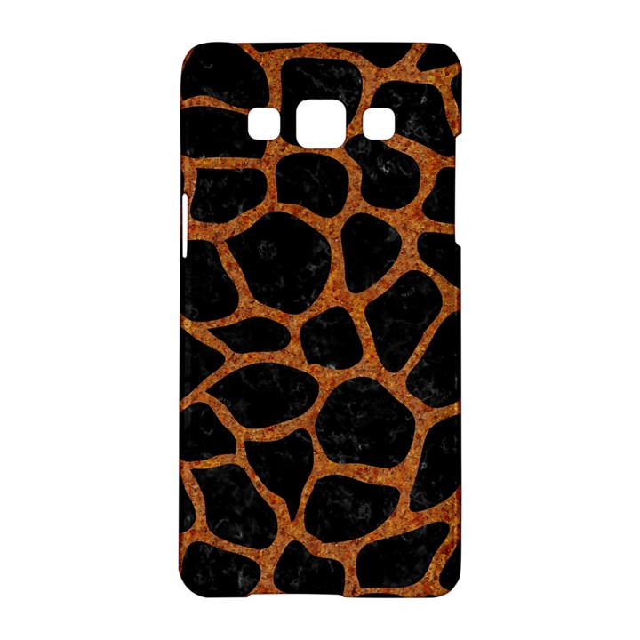 SKIN1 BLACK MARBLE & RUSTED METAL Samsung Galaxy A5 Hardshell Case