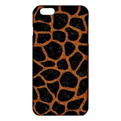 Skin1 Black Marble & Rusted Metal Iphone 6 Plus/6s Plus Tpu Case