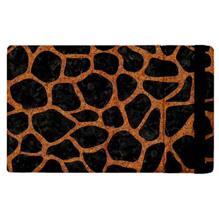SKIN1 BLACK MARBLE & RUSTED METAL Apple iPad Pro 12.9   Flip Case