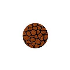 Skin1 Black Marble & Rusted Metal (r) 1  Mini Magnets