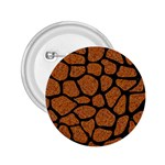 SKIN1 BLACK MARBLE & RUSTED METAL (R) 2.25  Buttons Front