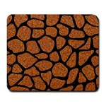 SKIN1 BLACK MARBLE & RUSTED METAL (R) Large Mousepads Front