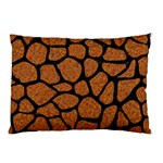 SKIN1 BLACK MARBLE & RUSTED METAL (R) Pillow Case (Two Sides) Front