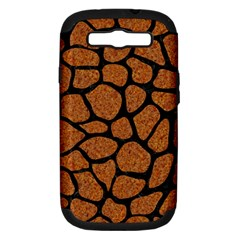 Skin1 Black Marble & Rusted Metal (r) Samsung Galaxy S Iii Hardshell Case (pc+silicone)