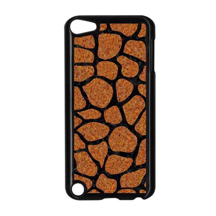 SKIN1 BLACK MARBLE & RUSTED METAL (R) Apple iPod Touch 5 Case (Black)