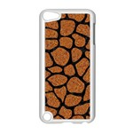 SKIN1 BLACK MARBLE & RUSTED METAL (R) Apple iPod Touch 5 Case (White) Front