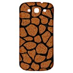 SKIN1 BLACK MARBLE & RUSTED METAL (R) Samsung Galaxy S3 S III Classic Hardshell Back Case Front