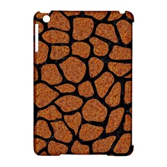 Skin1 Black Marble & Rusted Metal (r) Apple Ipad Mini Hardshell Case (compatible With Smart Cover)