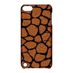 Skin1 Black Marble & Rusted Metal (r) Apple Ipod Touch 5 Hardshell Case With Stand
