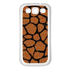 Skin1 Black Marble & Rusted Metal (r) Samsung Galaxy S3 Back Case (white)