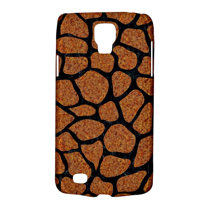 SKIN1 BLACK MARBLE & RUSTED METAL (R) Galaxy S4 Active