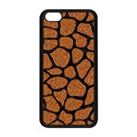 SKIN1 BLACK MARBLE & RUSTED METAL (R) Apple iPhone 5C Seamless Case (Black) Front