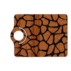 Skin1 Black Marble & Rusted Metal (r) Kindle Fire Hd (2013) Flip 360 Case
