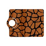 SKIN1 BLACK MARBLE & RUSTED METAL (R) Kindle Fire HD (2013) Flip 360 Case Front
