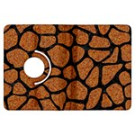 SKIN1 BLACK MARBLE & RUSTED METAL (R) Kindle Fire HDX Flip 360 Case Front
