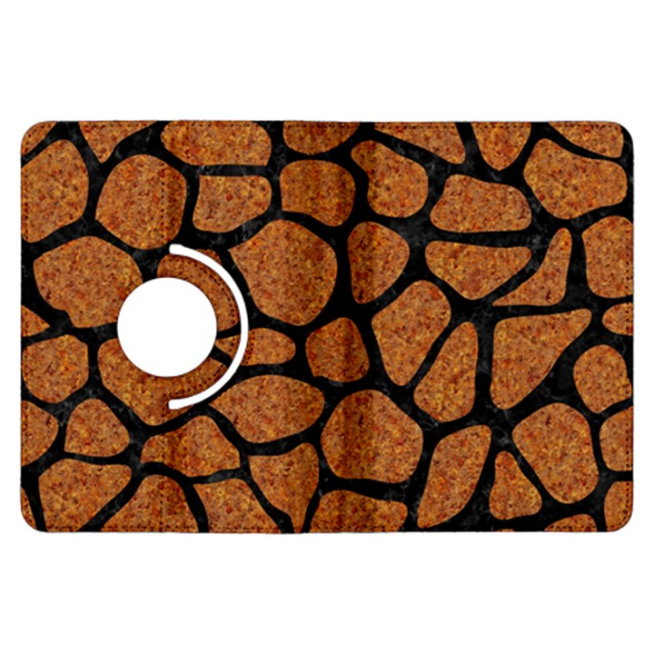 SKIN1 BLACK MARBLE & RUSTED METAL (R) Kindle Fire HDX Flip 360 Case