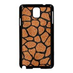 SKIN1 BLACK MARBLE & RUSTED METAL (R) Samsung Galaxy Note 3 Neo Hardshell Case (Black) Front