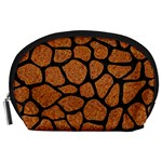 SKIN1 BLACK MARBLE & RUSTED METAL (R) Accessory Pouches (Large)  Front