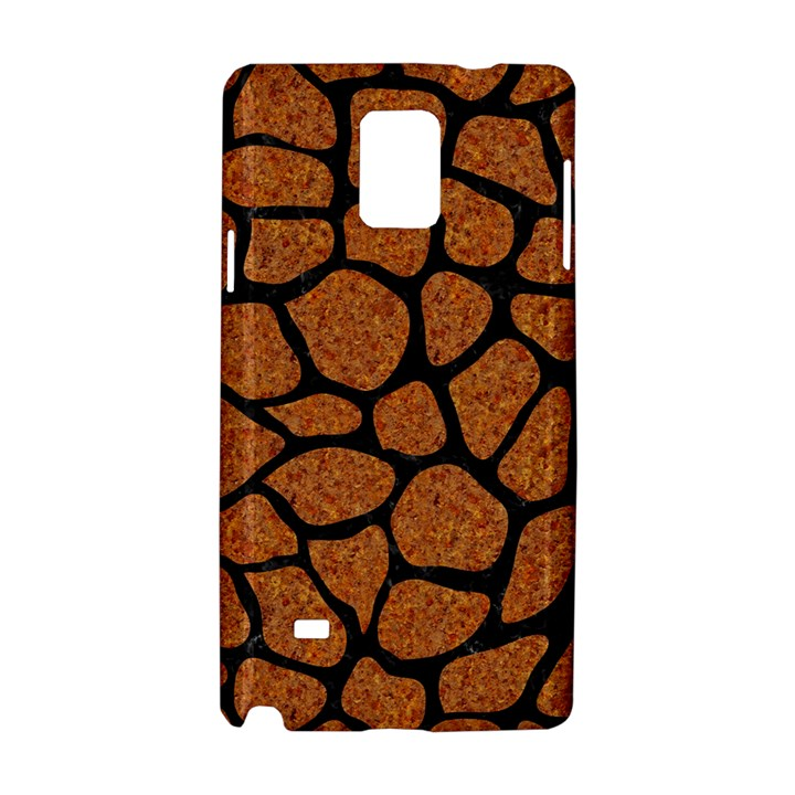 SKIN1 BLACK MARBLE & RUSTED METAL (R) Samsung Galaxy Note 4 Hardshell Case