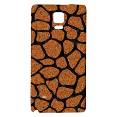 Skin1 Black Marble & Rusted Metal (r) Galaxy Note 4 Back Case