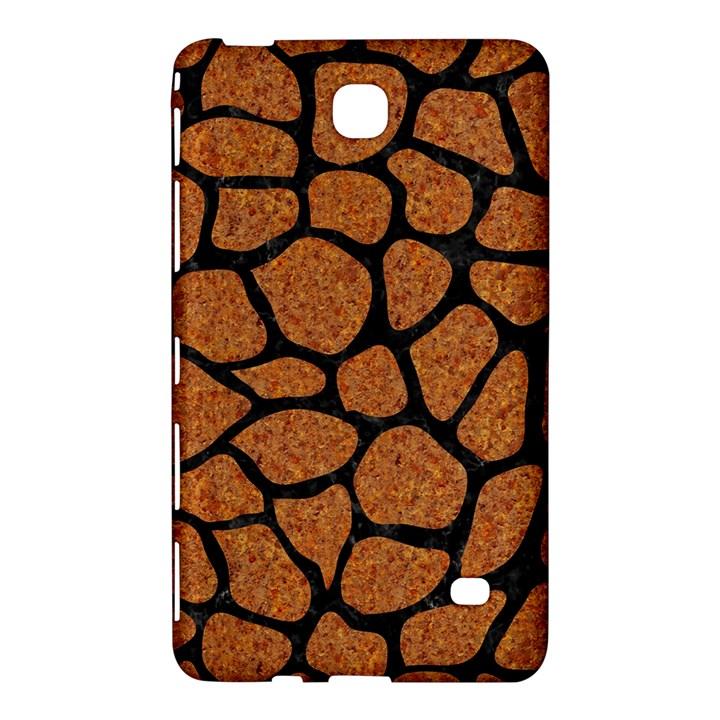 SKIN1 BLACK MARBLE & RUSTED METAL (R) Samsung Galaxy Tab 4 (7 ) Hardshell Case