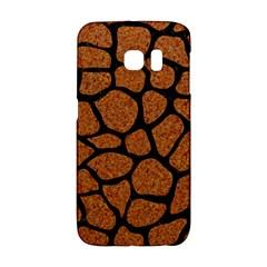 Skin1 Black Marble & Rusted Metal (r) Galaxy S6 Edge