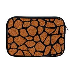 Skin1 Black Marble & Rusted Metal (r) Apple Macbook Pro 17  Zipper Case