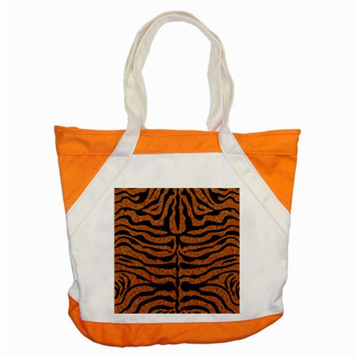 SKIN2 BLACK MARBLE & RUSTED METAL Accent Tote Bag