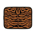 SKIN2 BLACK MARBLE & RUSTED METAL Netbook Case (Small)  Front