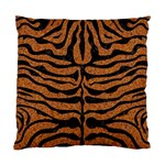 SKIN2 BLACK MARBLE & RUSTED METAL Standard Cushion Case (Two Sides) Front