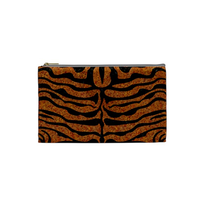 SKIN2 BLACK MARBLE & RUSTED METAL Cosmetic Bag (Small)