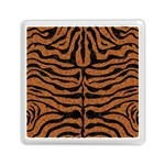 SKIN2 BLACK MARBLE & RUSTED METAL Memory Card Reader (Square)  Front