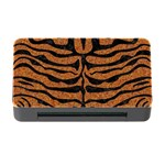 SKIN2 BLACK MARBLE & RUSTED METAL Memory Card Reader with CF Front