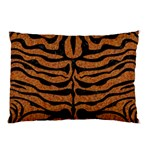 SKIN2 BLACK MARBLE & RUSTED METAL Pillow Case (Two Sides) Back
