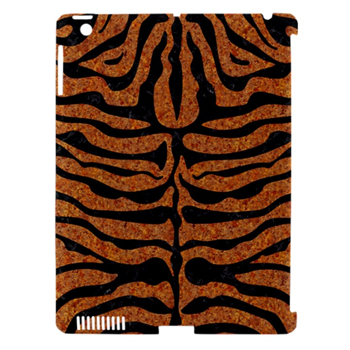 SKIN2 BLACK MARBLE & RUSTED METAL Apple iPad 3/4 Hardshell Case (Compatible with Smart Cover)