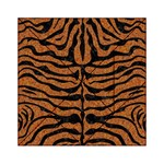 SKIN2 BLACK MARBLE & RUSTED METAL Acrylic Tangram Puzzle (6  x 6 ) Front