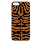SKIN2 BLACK MARBLE & RUSTED METAL Apple Seamless iPhone 5 Case (Clear) Front