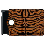 SKIN2 BLACK MARBLE & RUSTED METAL Apple iPad 3/4 Flip 360 Case Front