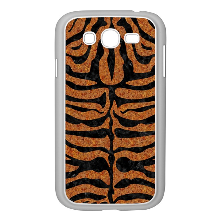 SKIN2 BLACK MARBLE & RUSTED METAL Samsung Galaxy Grand DUOS I9082 Case (White)