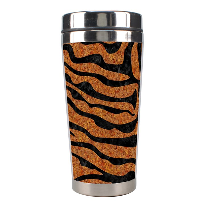 SKIN2 BLACK MARBLE & RUSTED METAL Stainless Steel Travel Tumblers