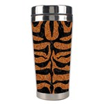 SKIN2 BLACK MARBLE & RUSTED METAL Stainless Steel Travel Tumblers Center