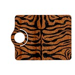 SKIN2 BLACK MARBLE & RUSTED METAL Kindle Fire HD (2013) Flip 360 Case Front